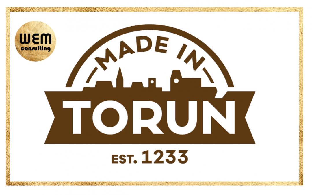 WEM consulting wyróżnione znakiem jakości Made in Toruń!